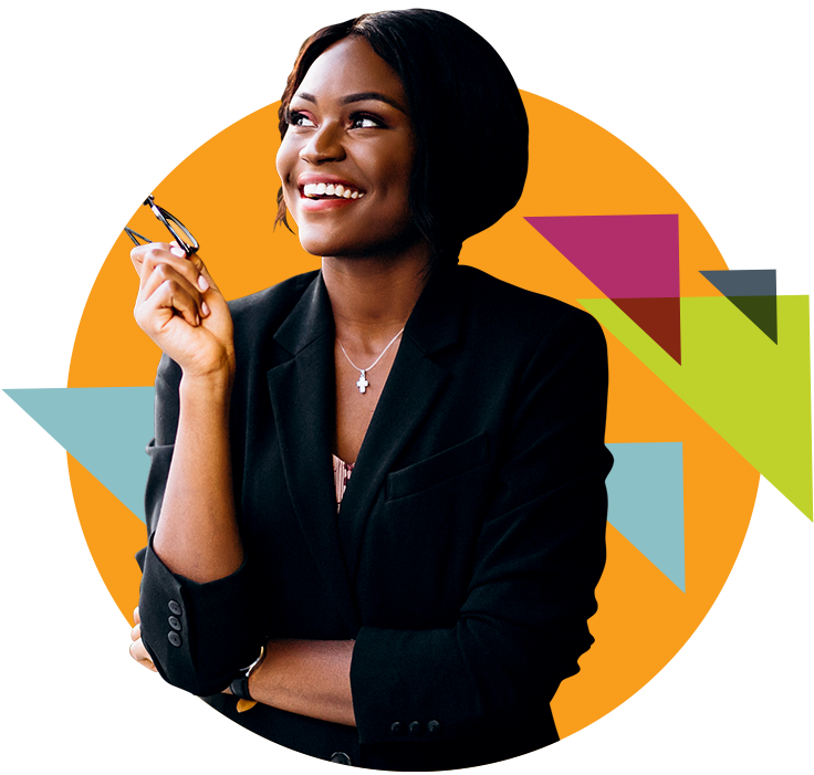 AFSUG Image African Business Woman Smiling